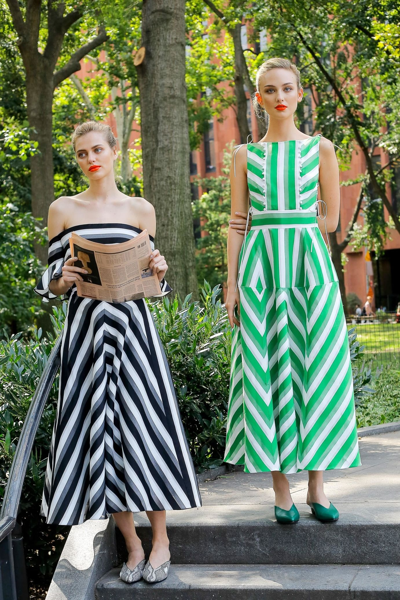 Платье миди геометрическое