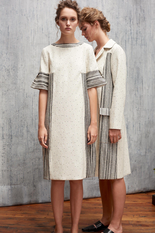 Платье миди геометрическое в полоску