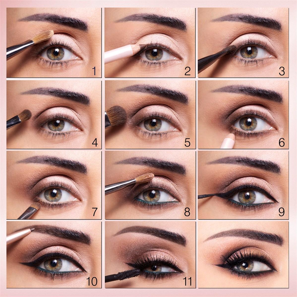 Восточный макияж инструкция