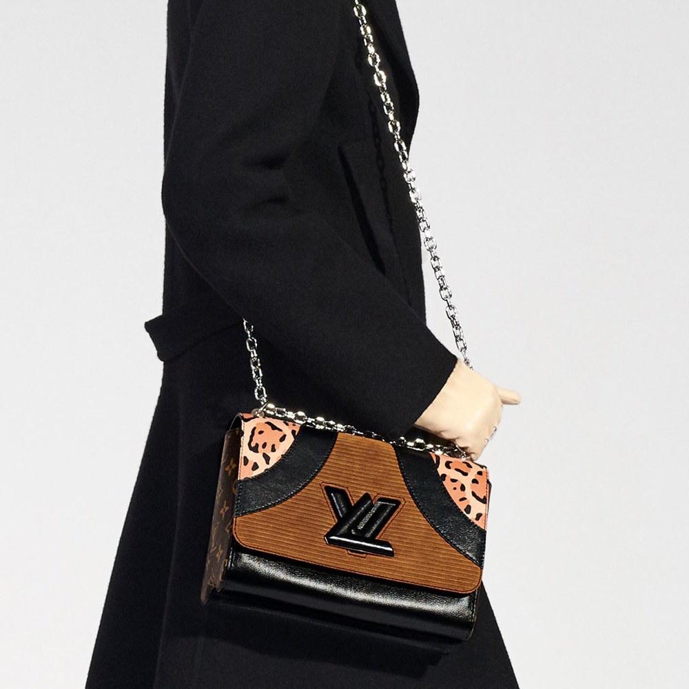 Кожаная сумка женская комбинированная