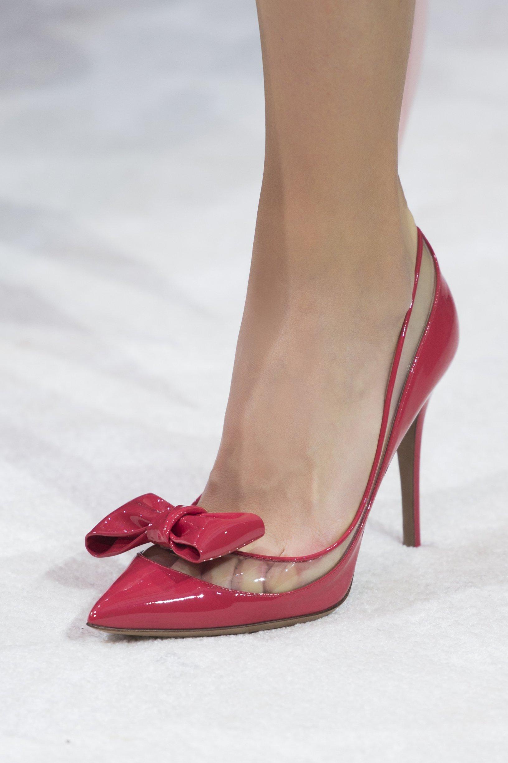 Туфли 2018 красные