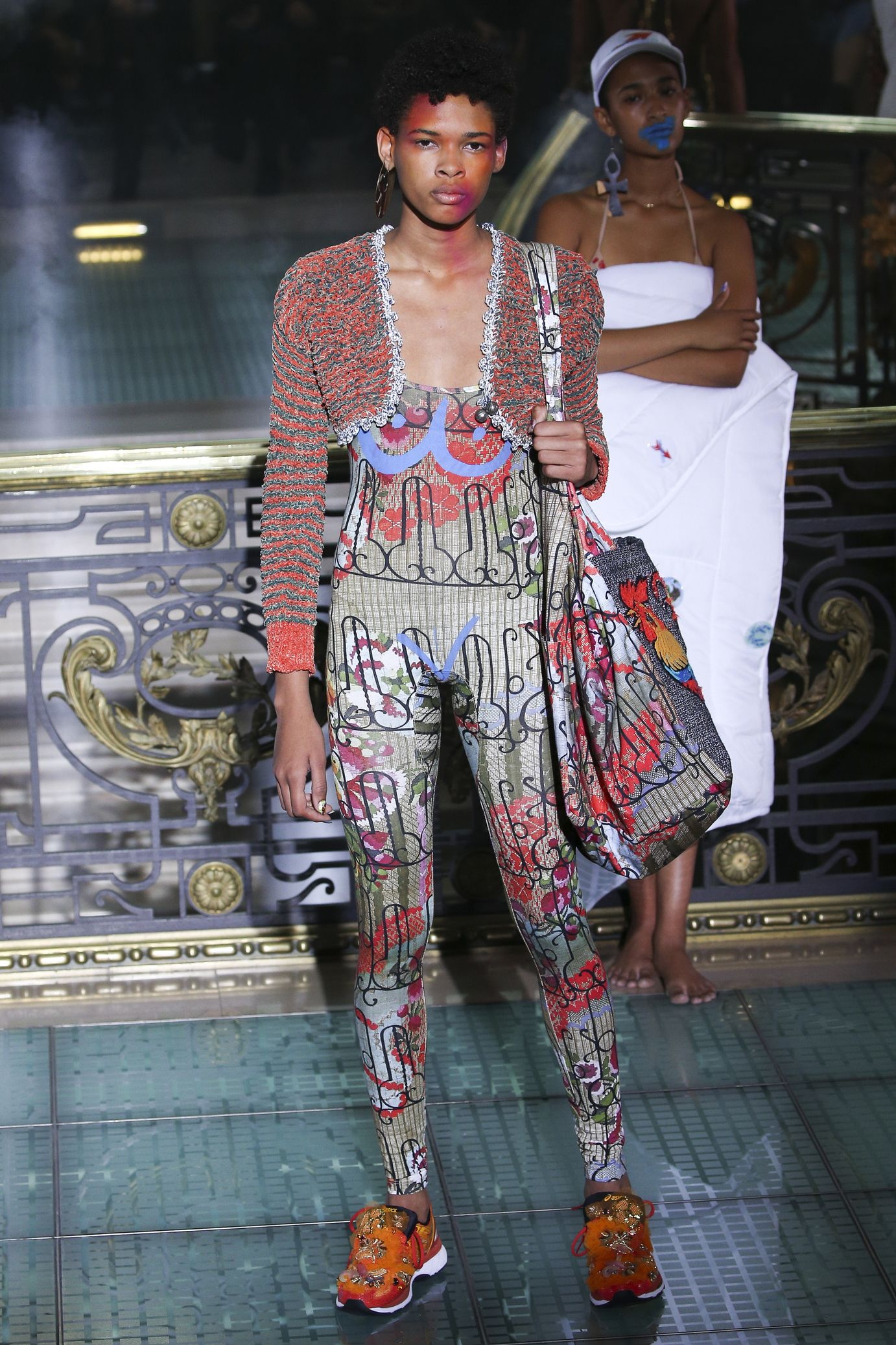 Vivienne Westwood весна лето 2018 кроссовки