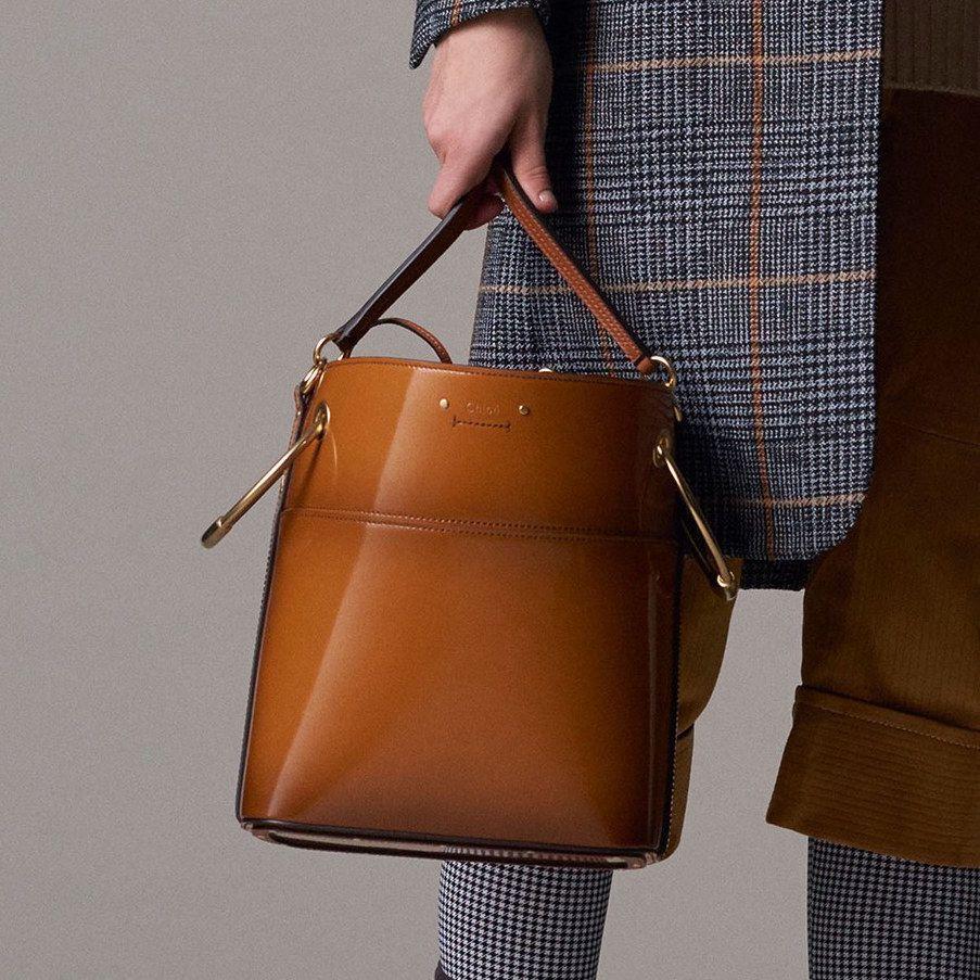 Кожаная сумка женская лаковая