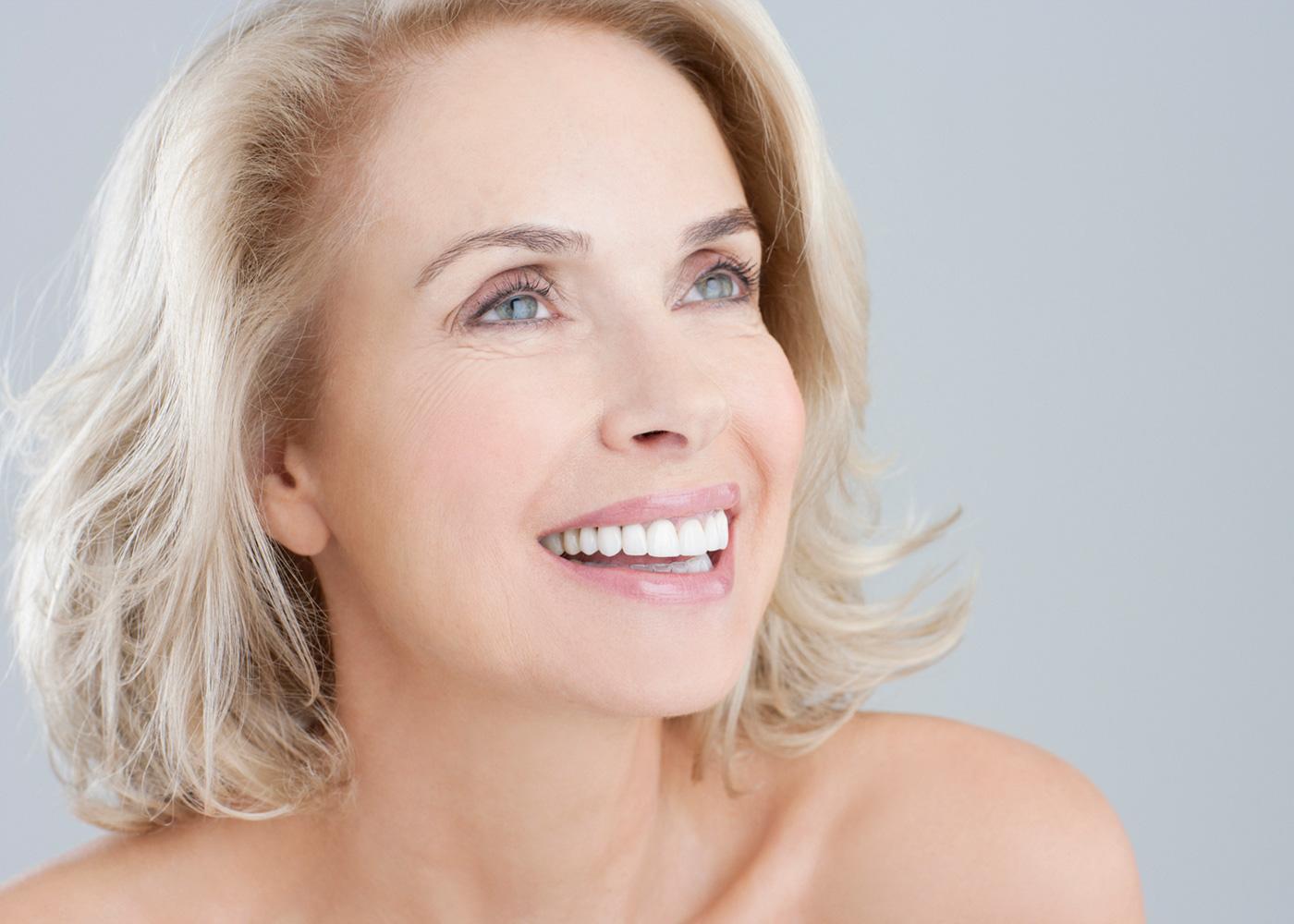 Возрастной макияж легкий