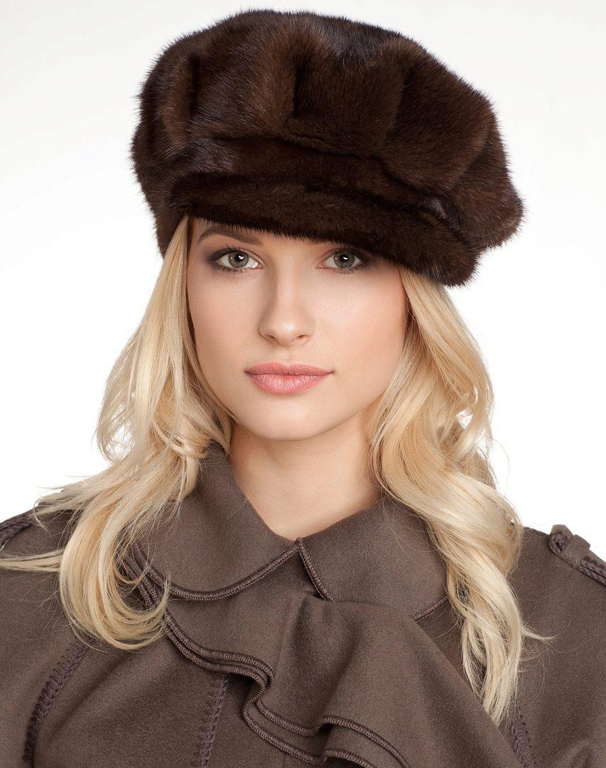 Кепка женская меховая