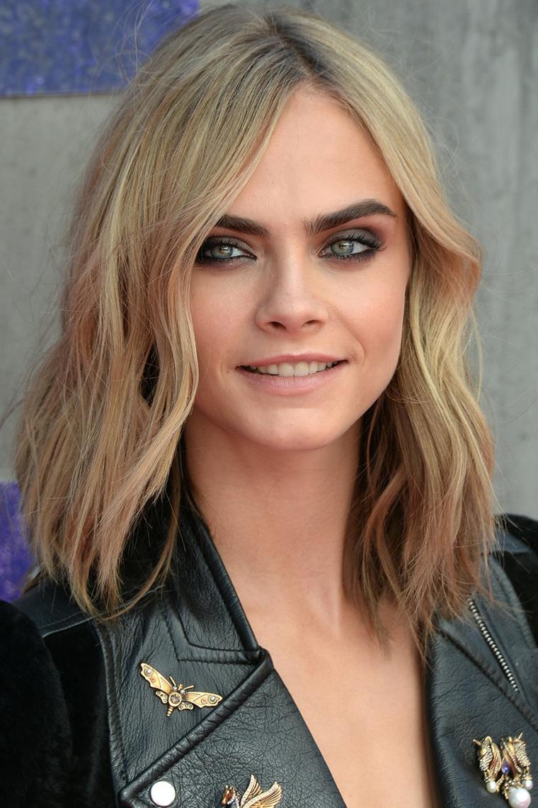 Стрижка на средние волосы 2018 мода