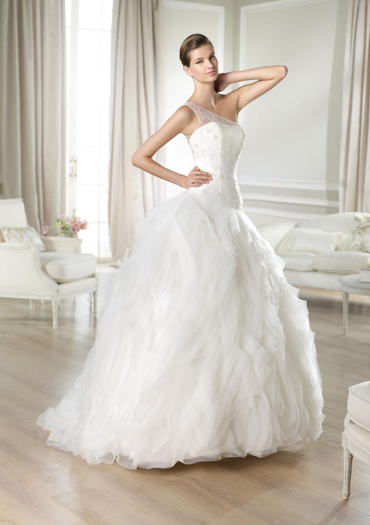 Свадебное платье для полных мода