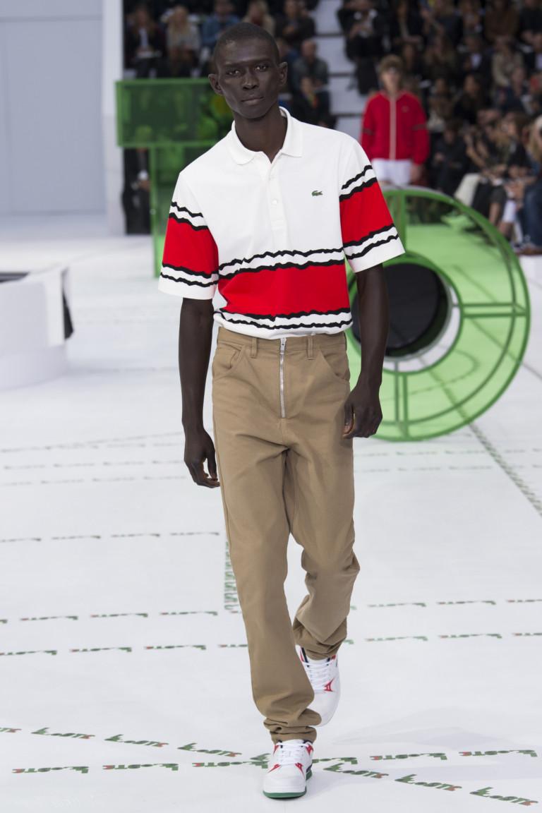 Lacoste весна лето 2018 мужская футболка