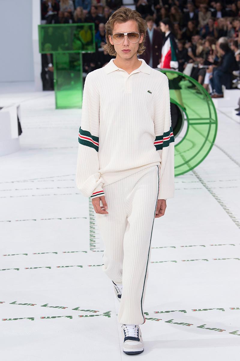 Lacoste весна лето 2018 мужская кофта