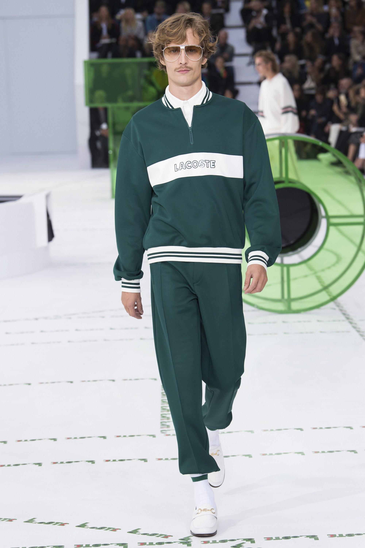 Lacoste весна лето 2018 мужская коллекция