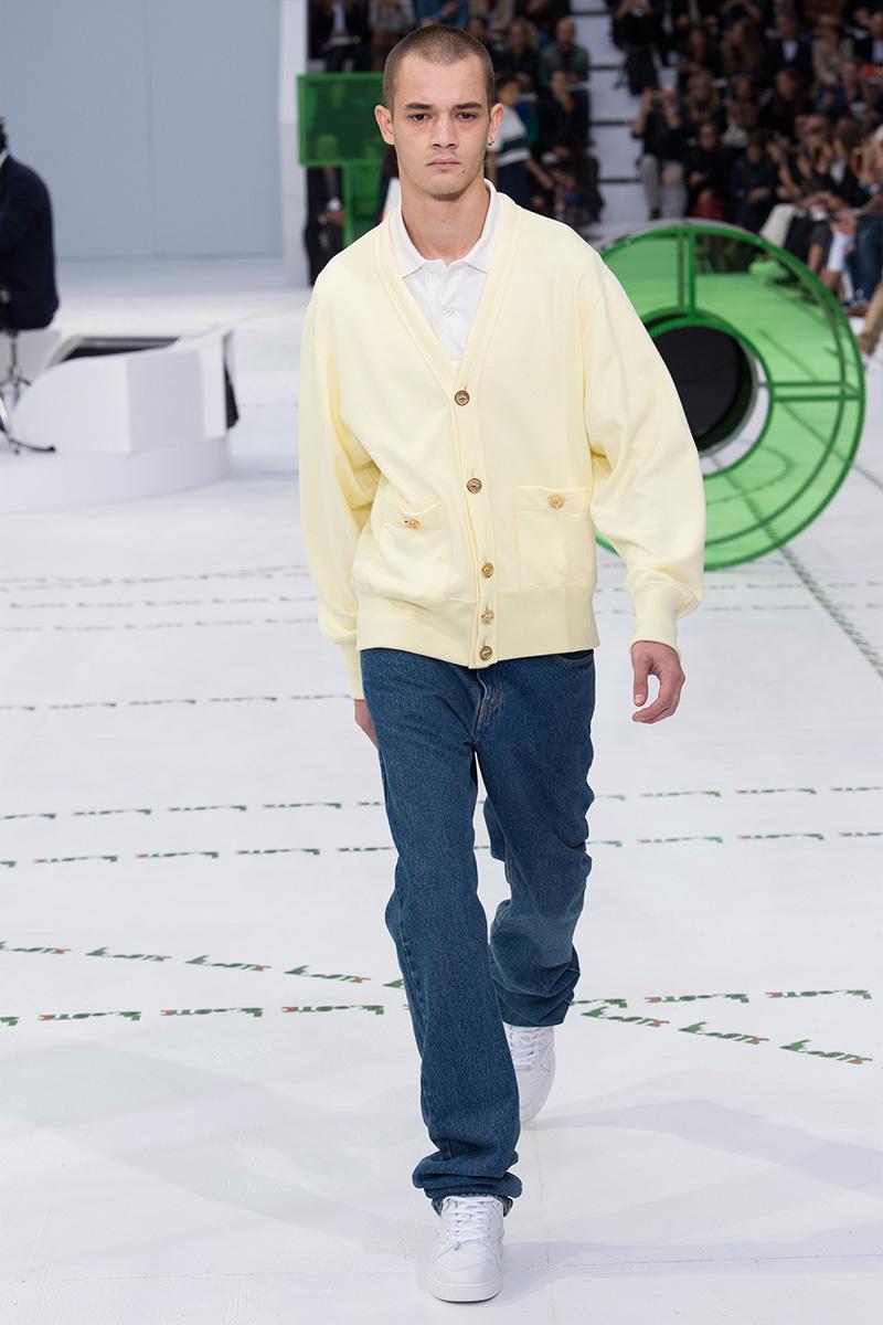 Lacoste весна лето 2018 мужской джемпер