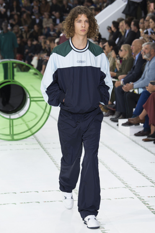 Lacoste весна лето 2018 мужской костюм