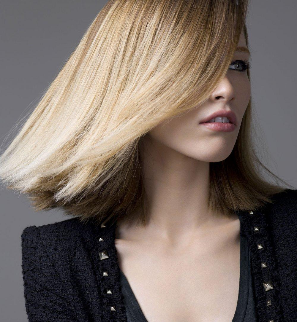 Стрижка на средние волосы 2018 новинки