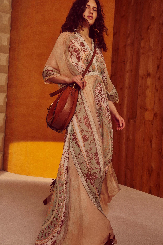 Платье бохо образ