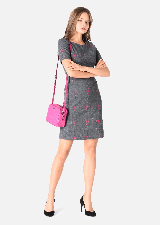 Платье трапеция офисное