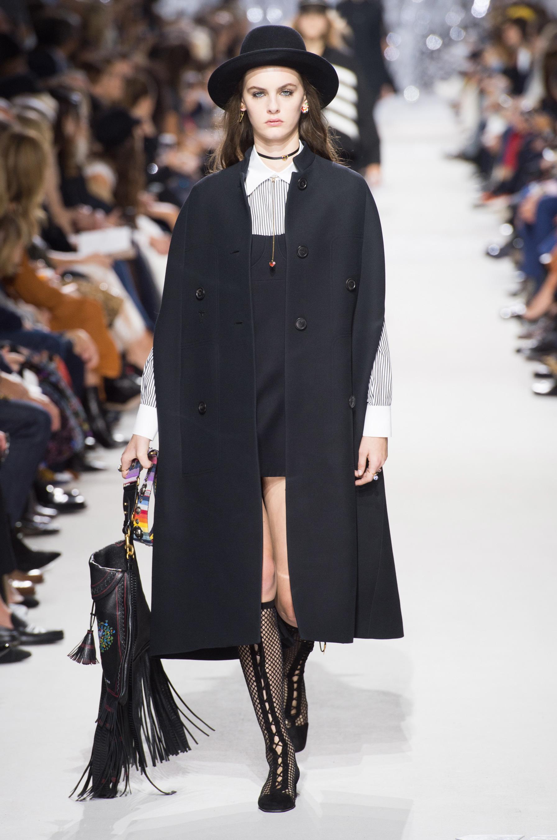Christian Dior весна лето 2018 пальто
