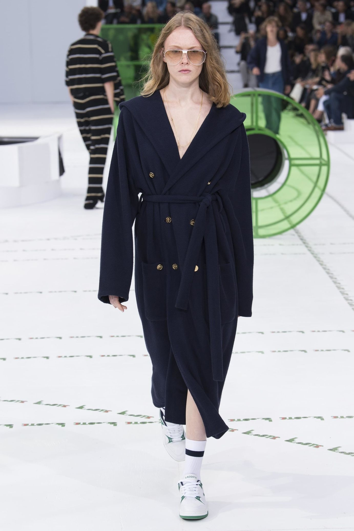 Lacoste весна лето 2018 пальто