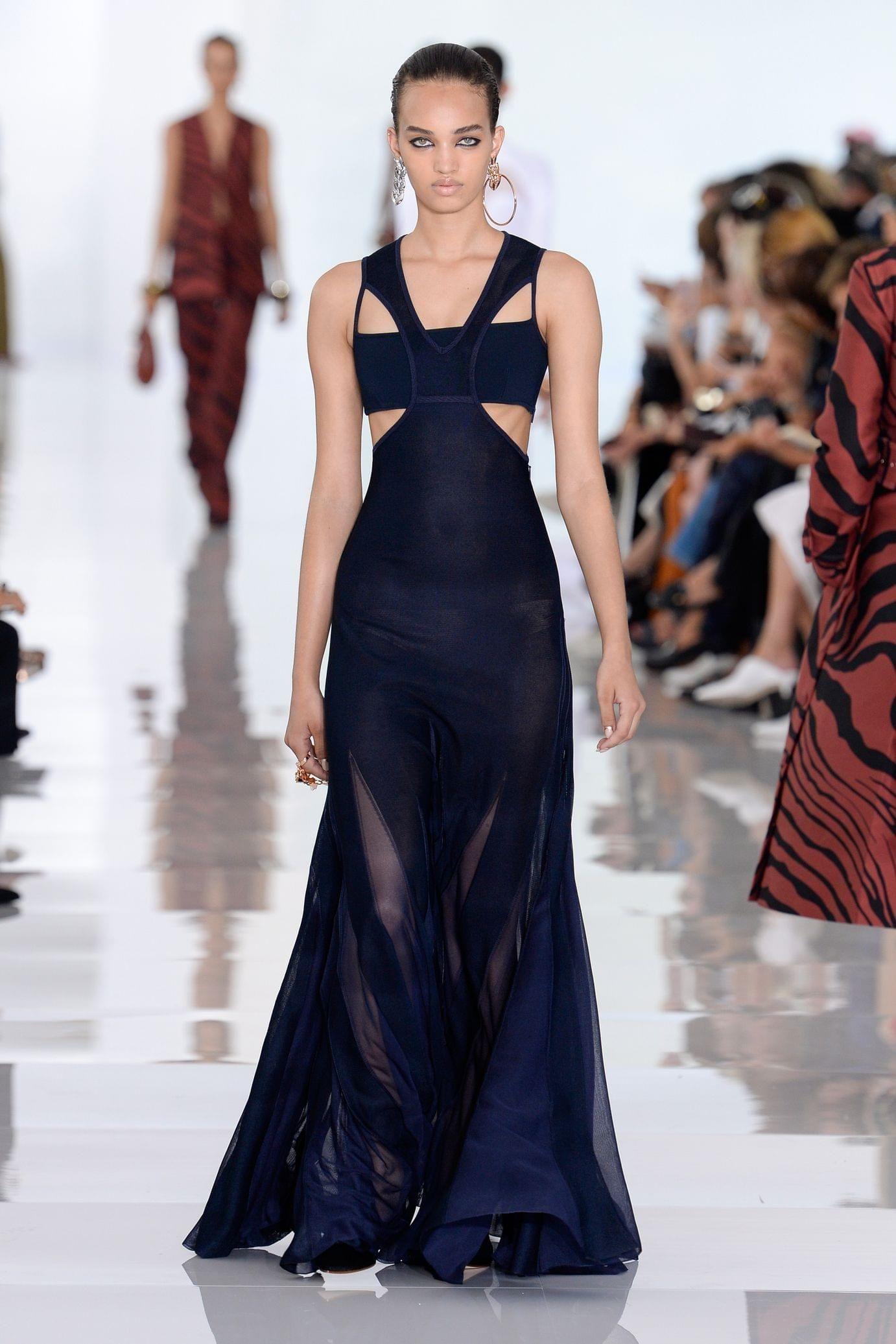 Roberto Cavalli весна лето 2018 платье
