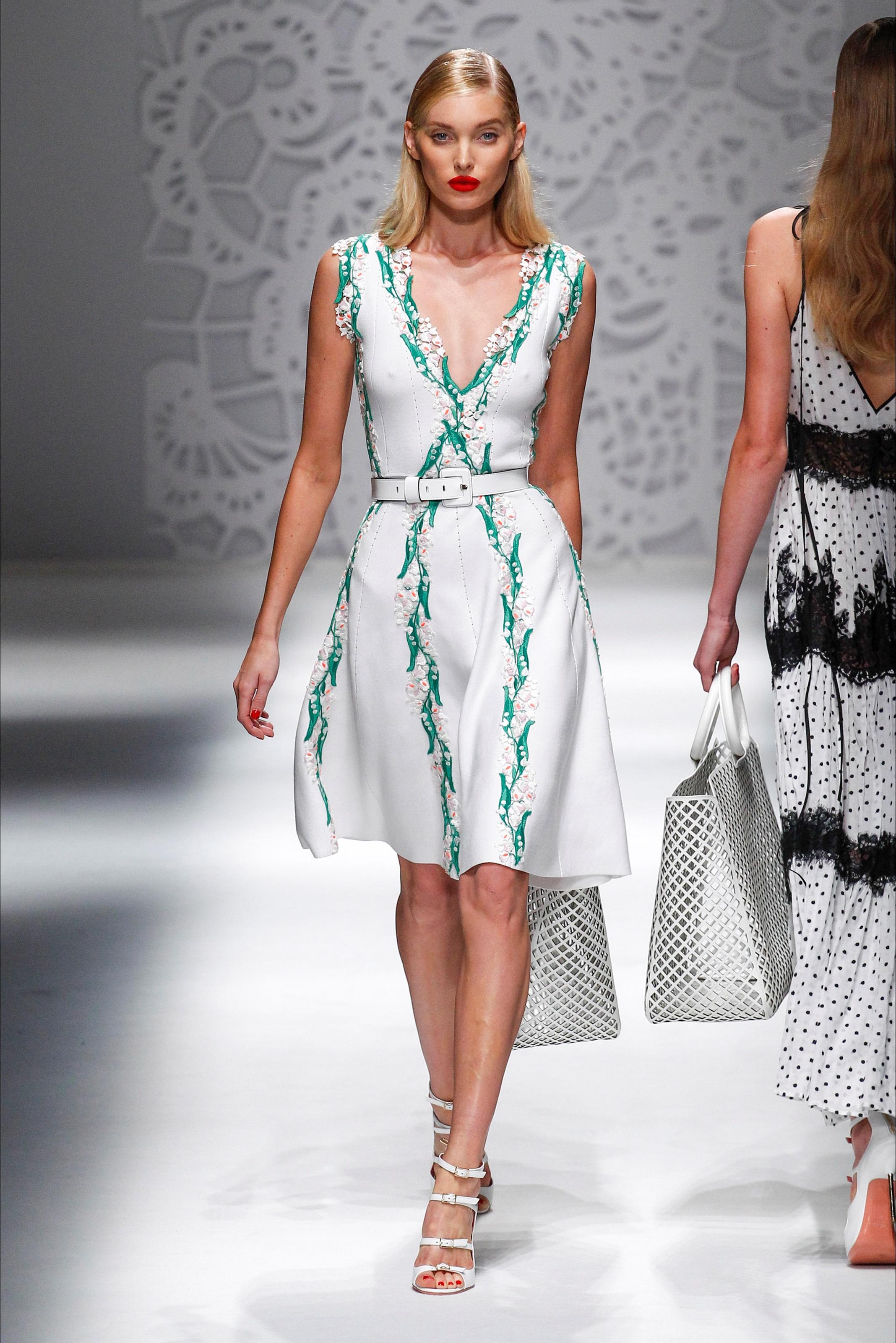 Blumarine весна лето 2018 платье