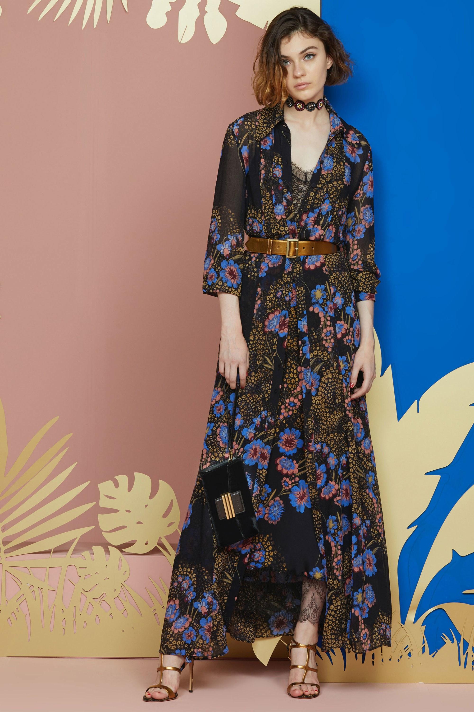 Платье бохо с поясом