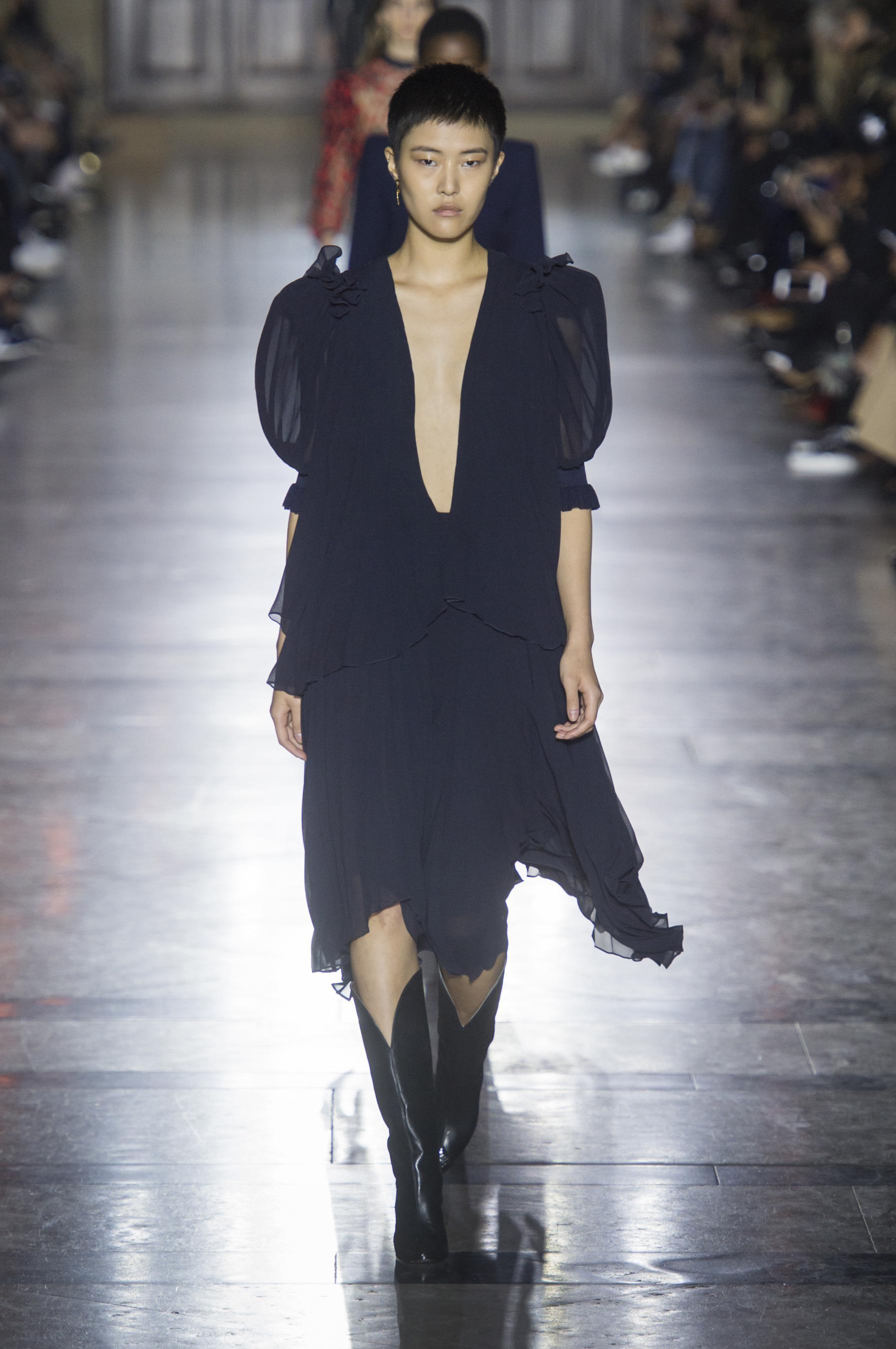 Givenchy весна лето 2018 прет а порте