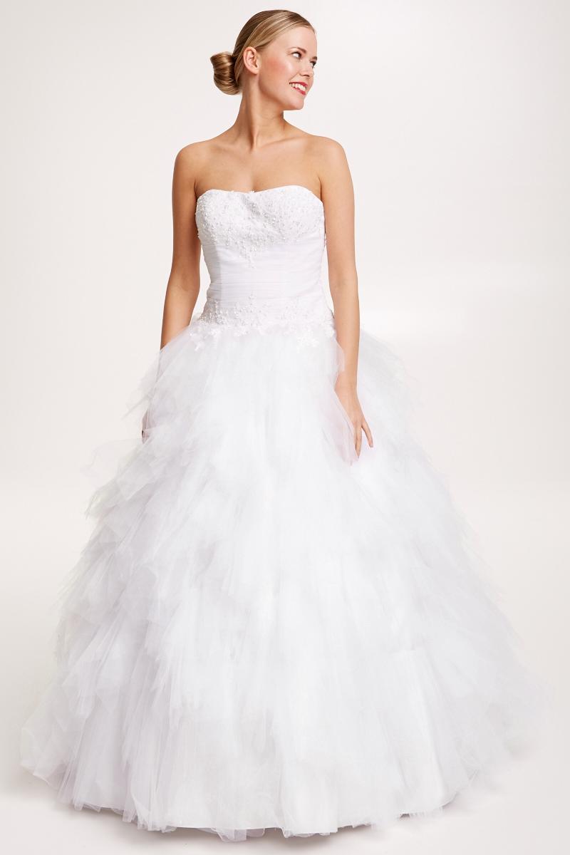 Свадебное платье для полных принцесса