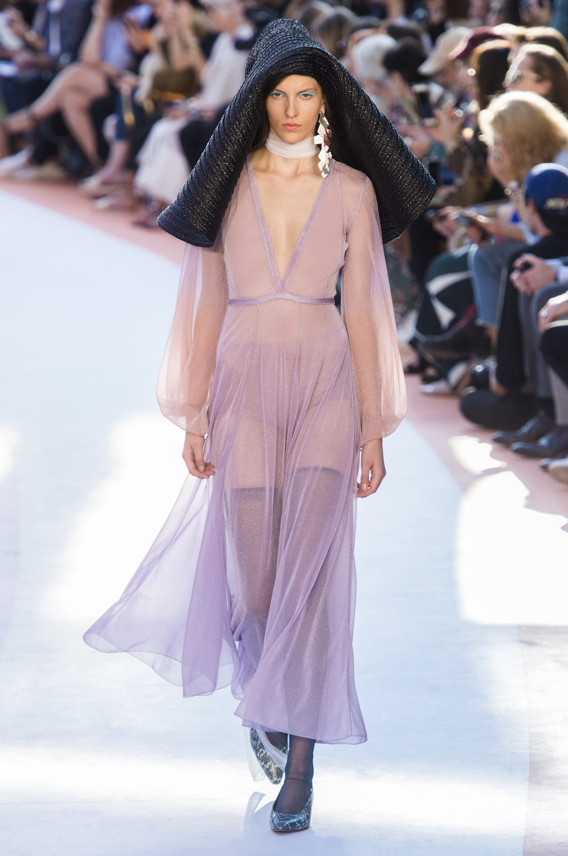 Missoni весна лето 2018 прозрачное платье