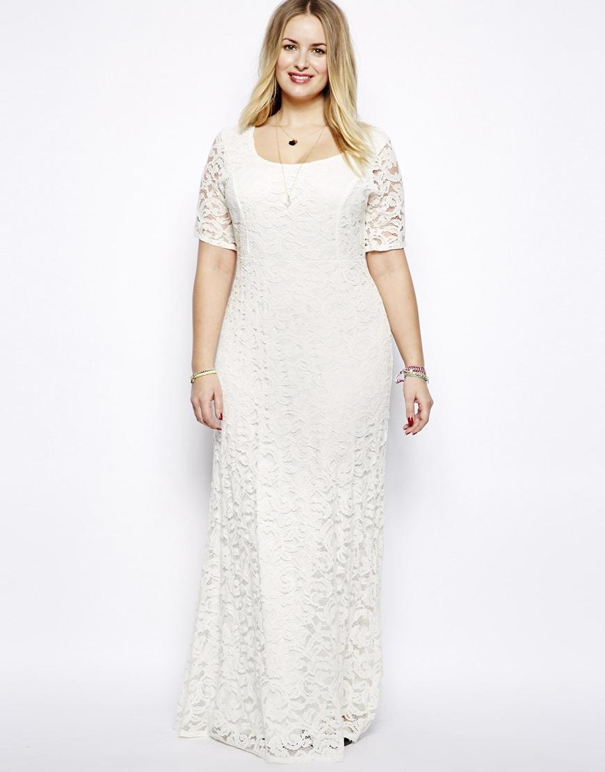 Свадебное платье для полных прямое