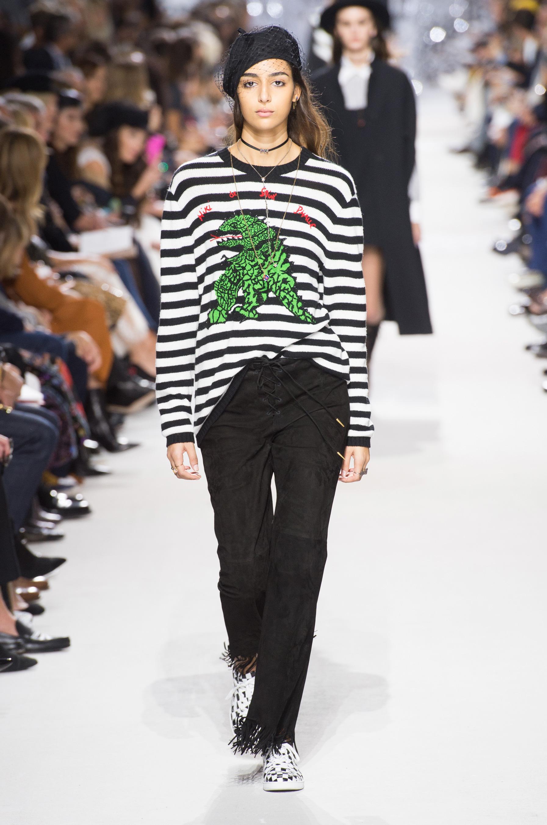 Christian Dior весна лето 2018 пуловер