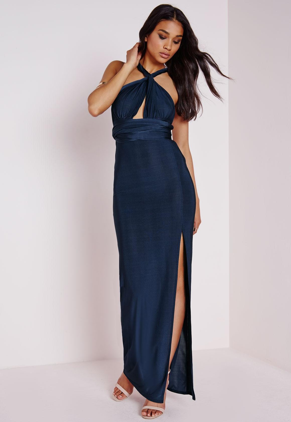Платье трансформер с разрезом