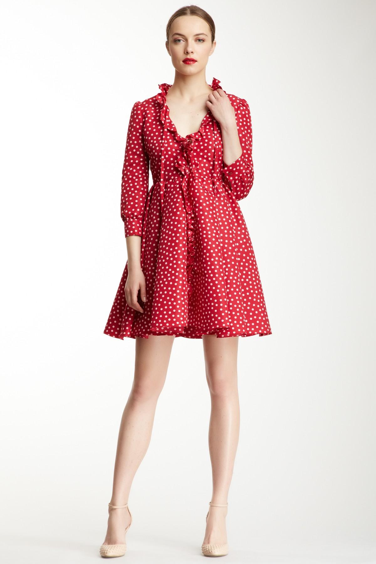 Платье миди Red Valentino