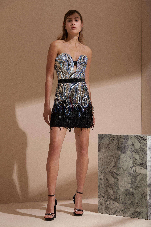 Roberto Cavalli круизная коллекция 2018 коктейльное платье