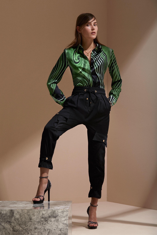 Roberto Cavalli круизная коллекция 2018 блузка