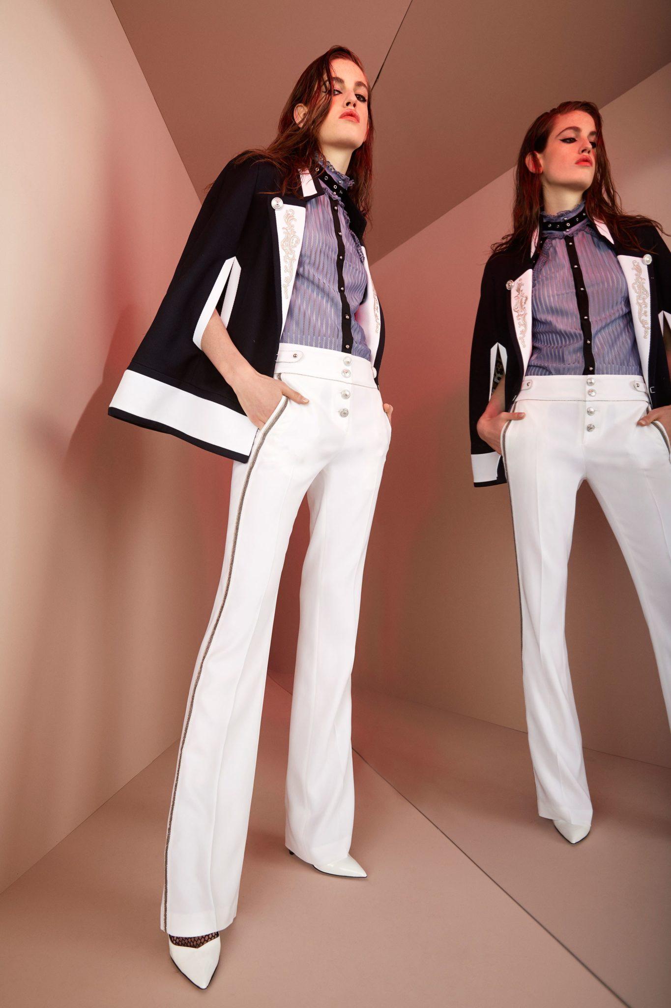 Roberto Cavalli круизная коллекция 2018 брюки