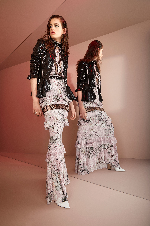 Roberto Cavalli круизная коллекция 2018 юбка