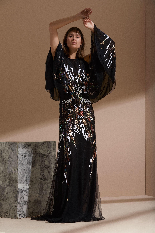 Roberto Cavalli круизная коллекция 2018 вечернее платье