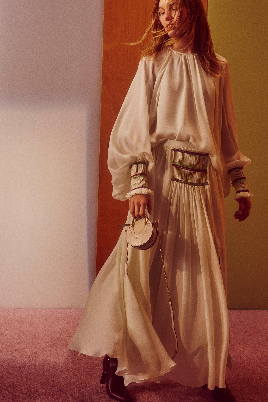 Платье бохо с резинкой