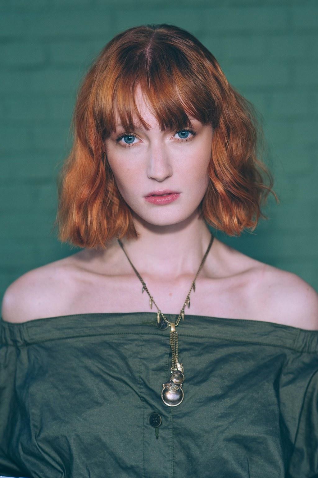Короткая стрижка 2018 для рыжих волос