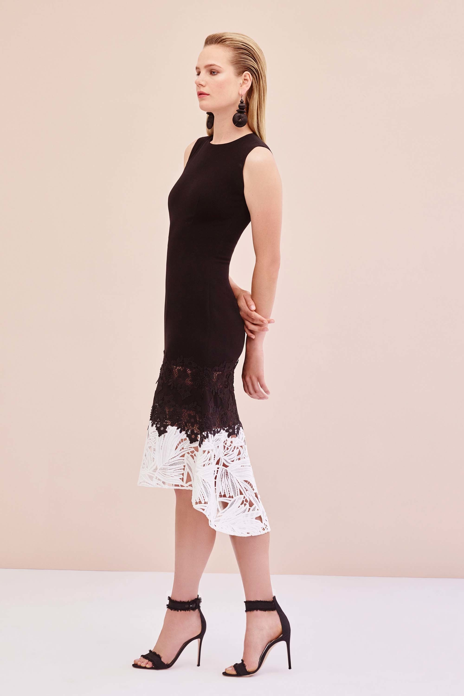 Платье миди Sachin Babi асимметричное