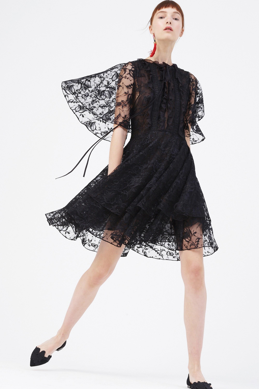 Платье миди Sachin Babi черное