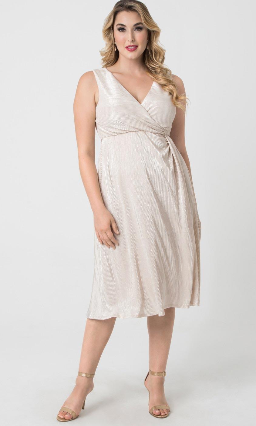 Свадебное платье для полных шелковое