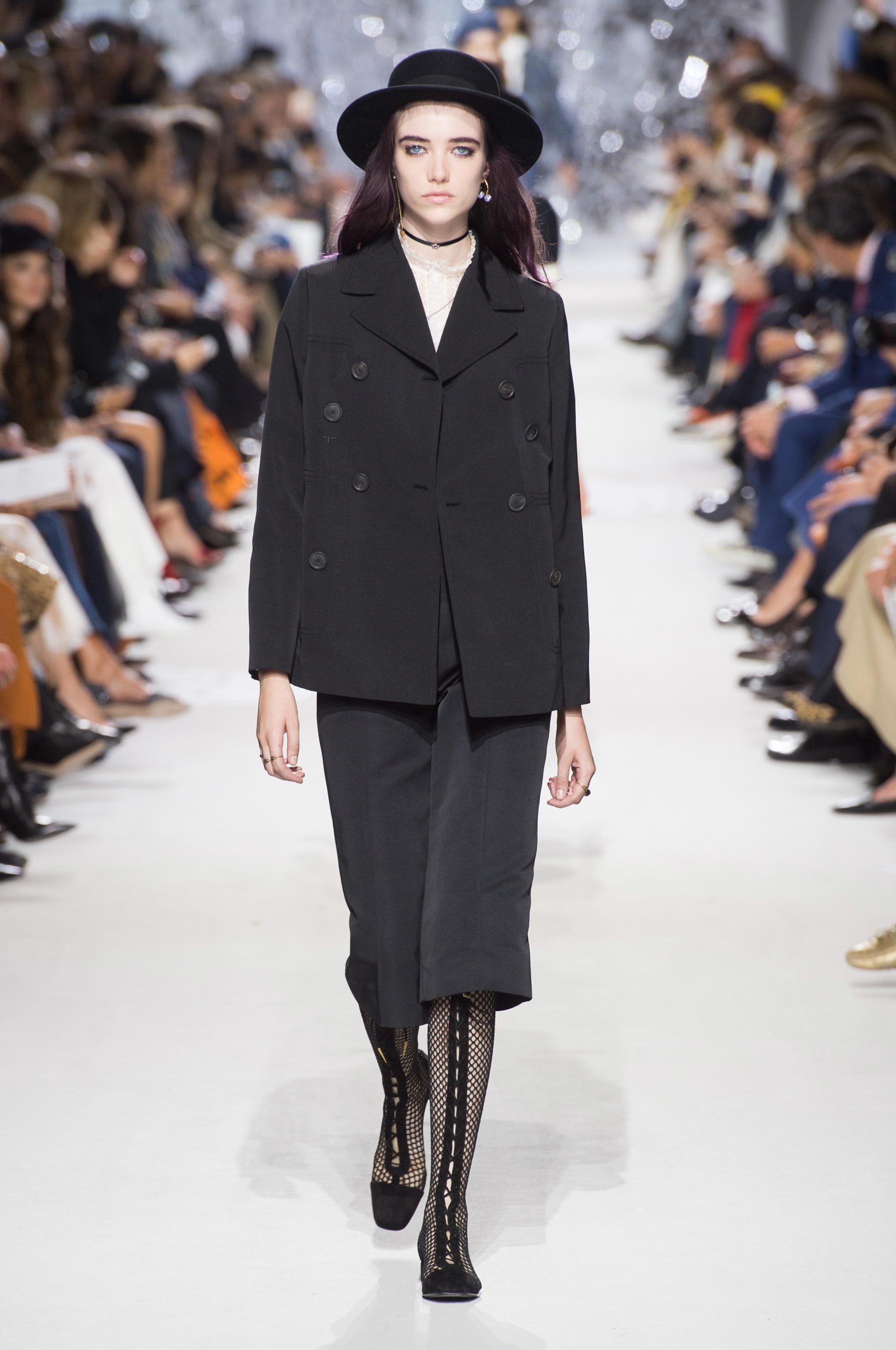 Christian Dior весна лето 2018 шляпа