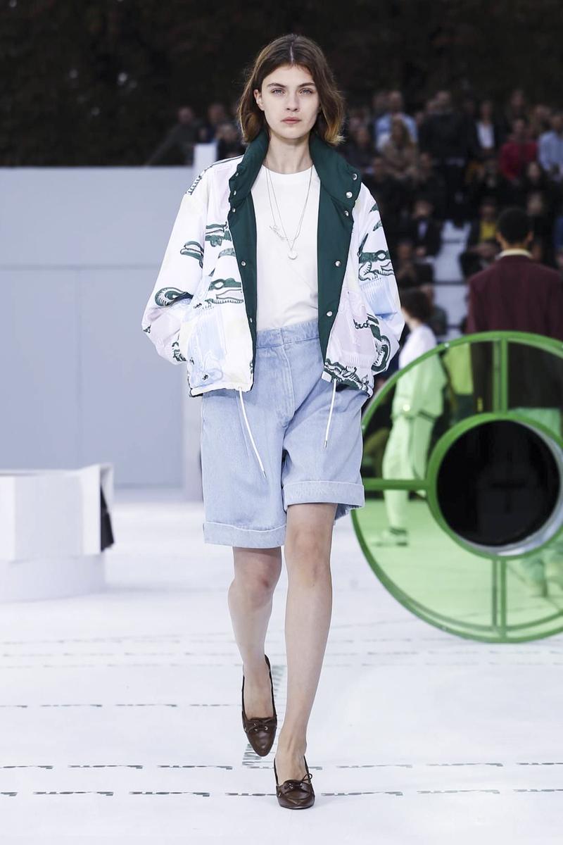 Lacoste весна лето 2018 шорты