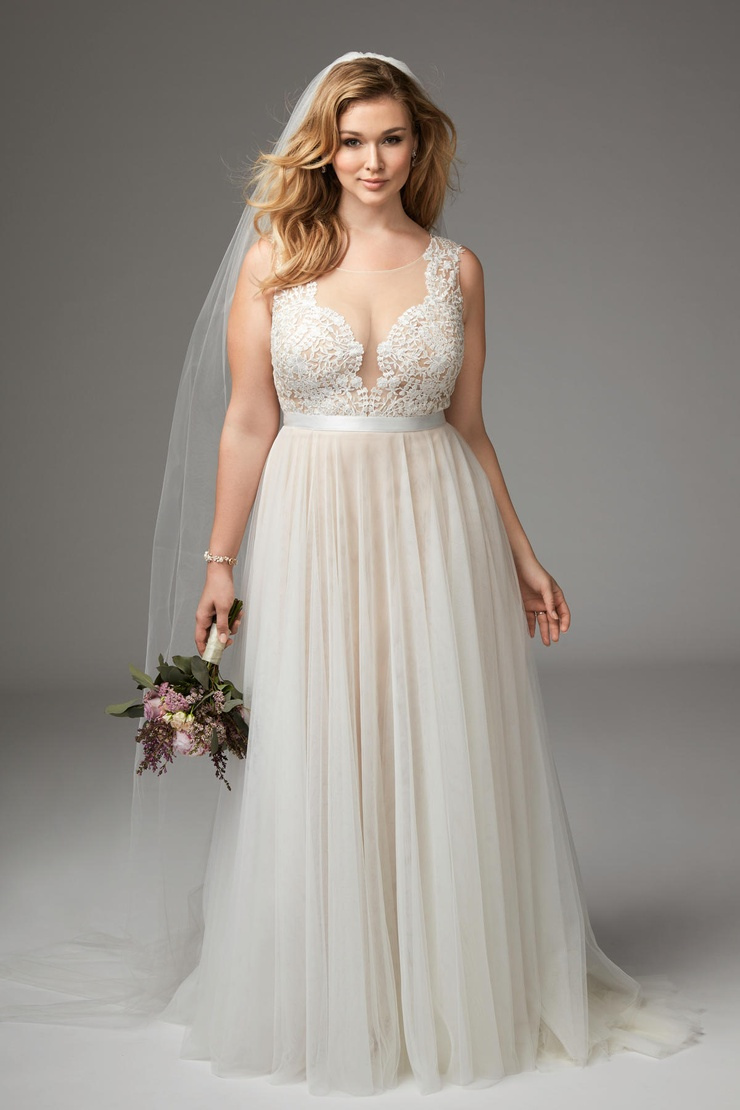 plus size wedding dresses - 736×1104