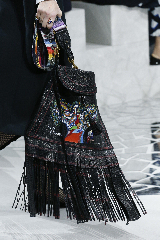 Christian Dior весна лето 2018 большая сумка