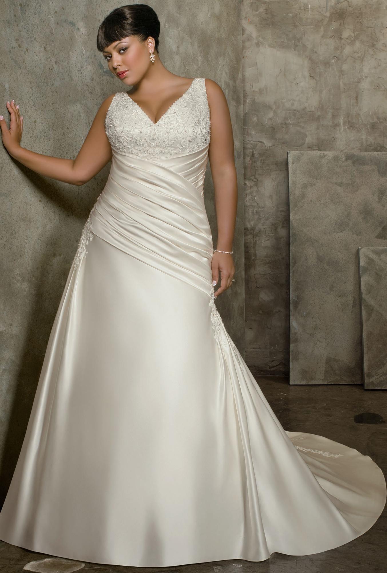 Свадебное платье для полных тенденции