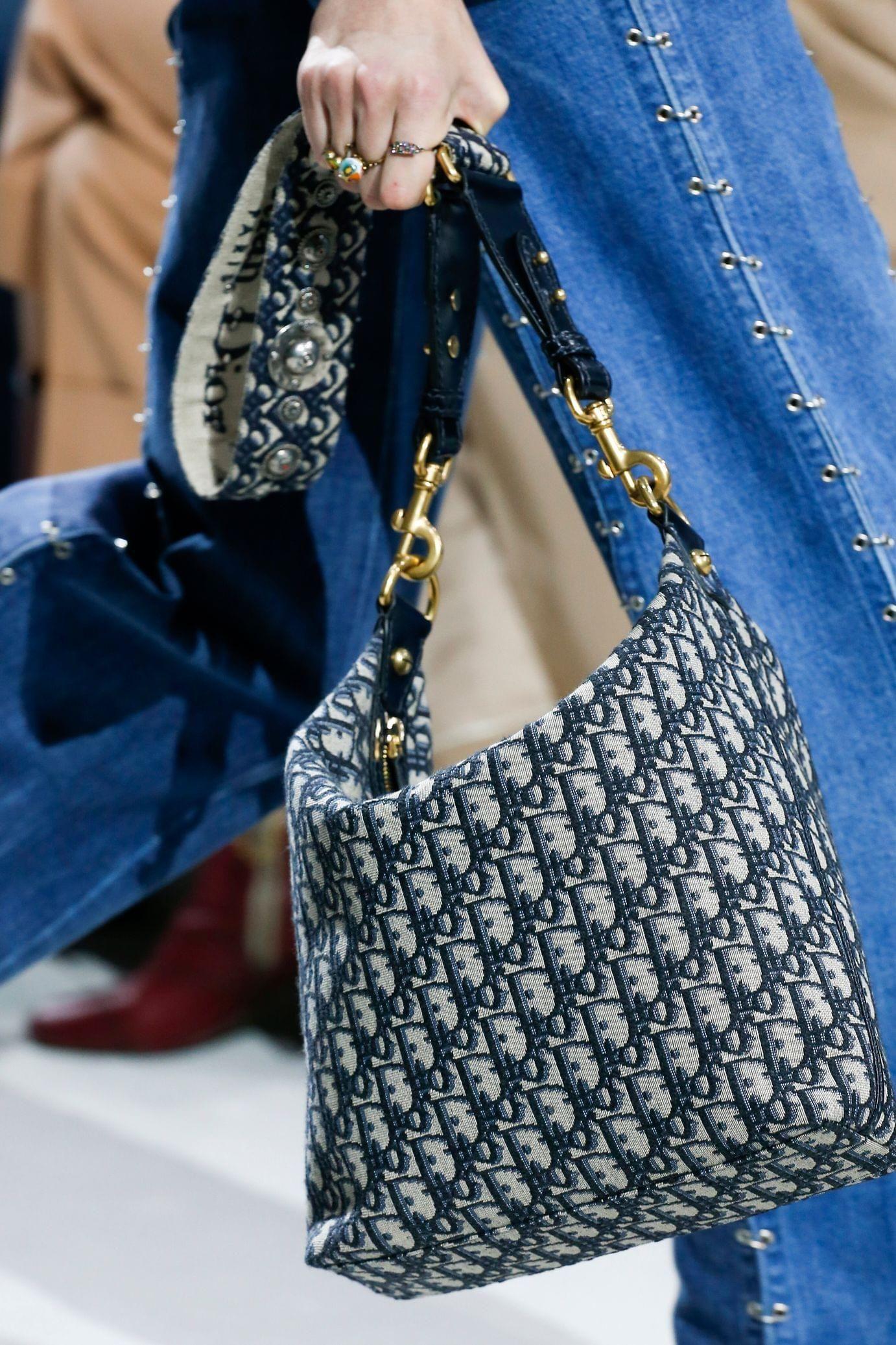 Christian Dior весна лето 2018 сумка тканевая
