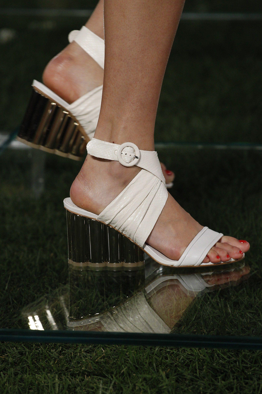 Salvatore Ferragamo весна лето 2018 туфли
