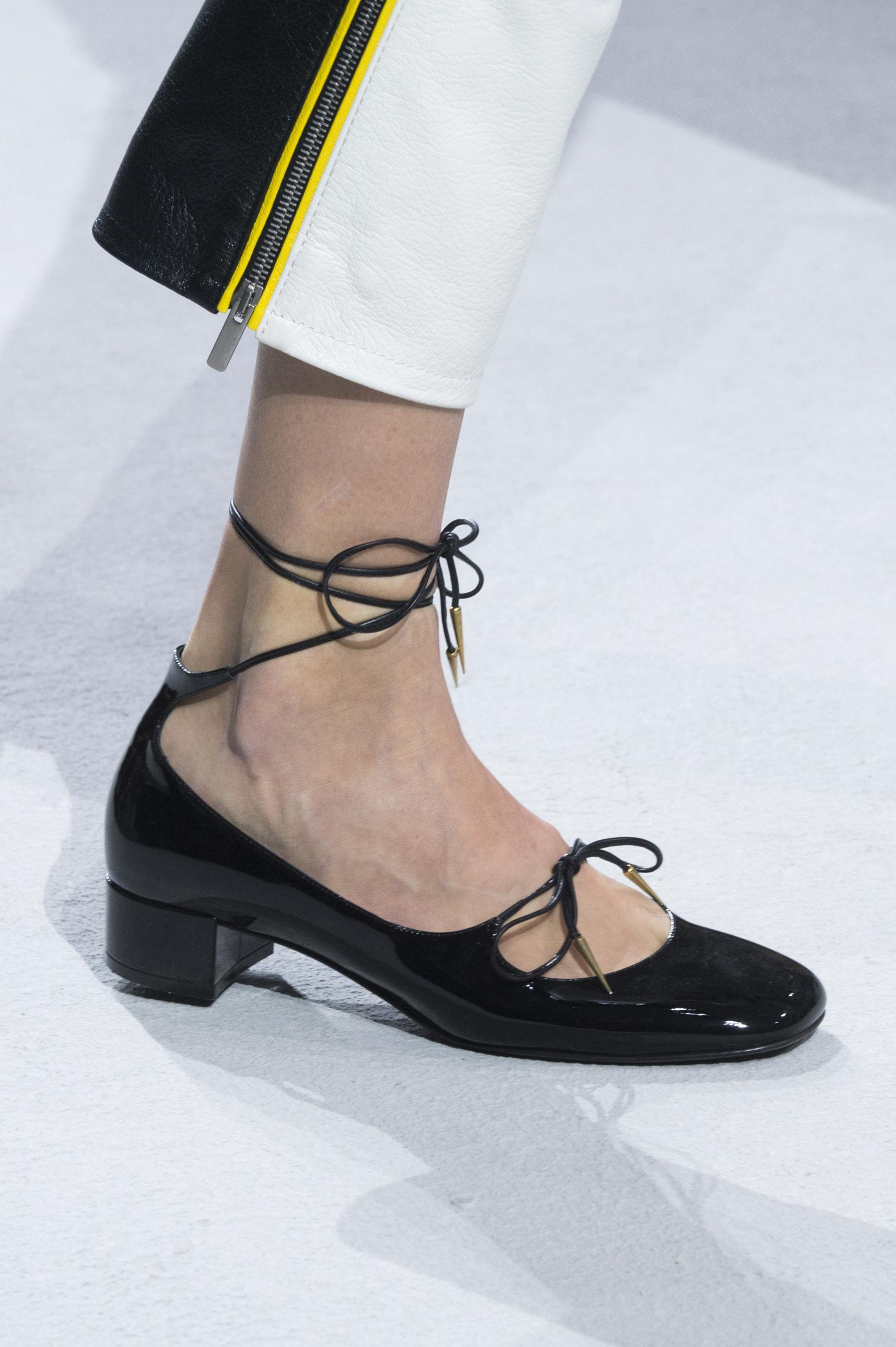Christian Dior весна лето 2018 туфли