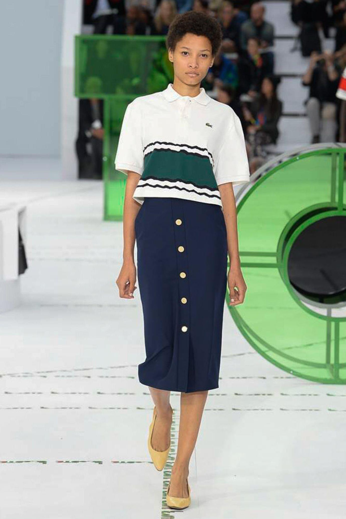 Lacoste весна лето 2018 юбка